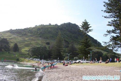 Пляж три
