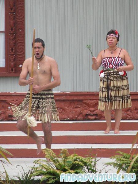 Танцы маори