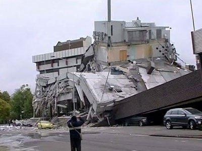 Землетрясение в Крайстчерче 1