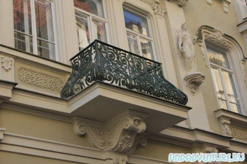 Аккуратный балкончик